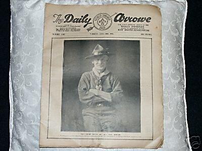 Periódico del Jamboree de 1929.