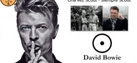David Bowie músico cantante de Rock fue Scout